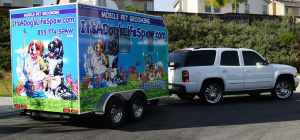 Our mobile pet spa